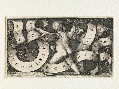 Génie avec l'alphabet romain