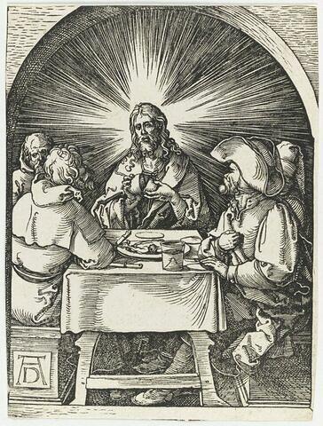 Le Repas à Emmaüs