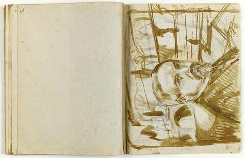 Autoportrait devant le Prieuré