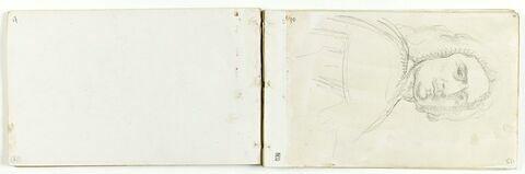 Etude d'après l'Autoportrait de Poussin
