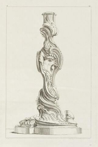 Chandelier (planche 74, série M)