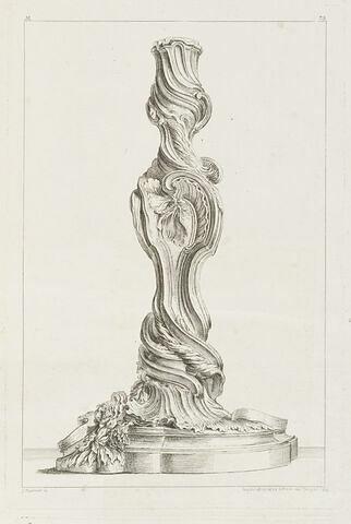 Chandelier (planche 75, série M)