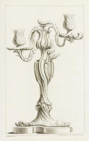Chandelier (planche 76, série M)