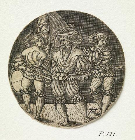 Le Porte-enseigne, le Tambour et le Fifre