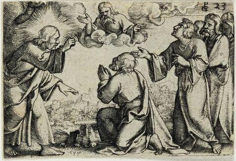 Jésus établit Saint Pierre chef de son Eglise