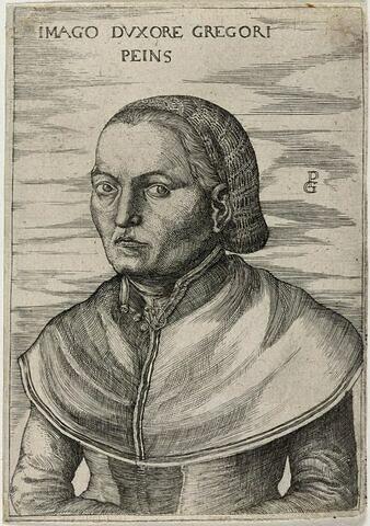 Portrait de la femme de Georg Pencz