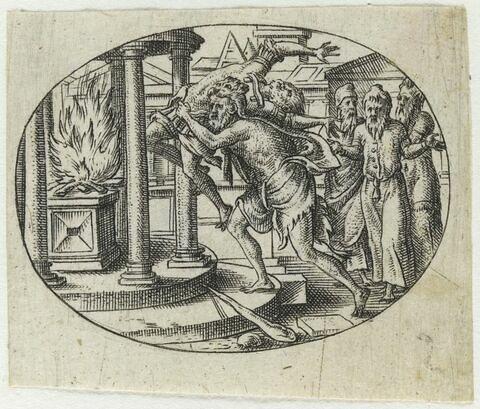 Hercule sacrifiant Busiris
