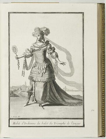 Habit d'Indienne du ballet du Triomphe de l'Amour