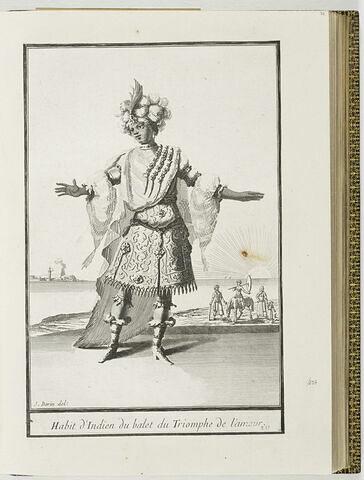 Habit d'Indien du ballet du Triomphe de l'Amour