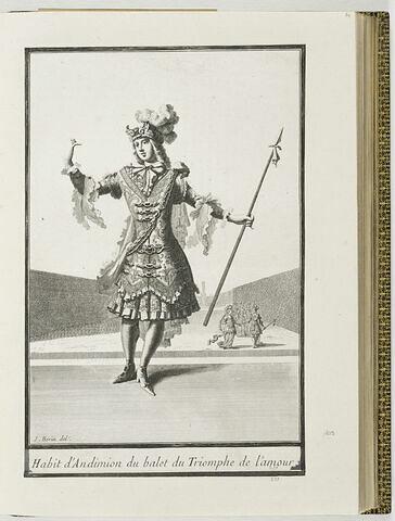 Habit d'Endymion du ballet du Triomphe de l'Amour