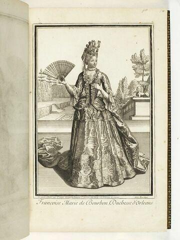 Françoise Marie de Bourbon, Duchesse d'Orléans