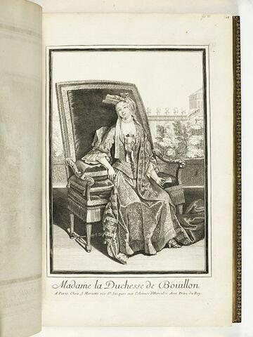 Madame la Duchesse de Bouillon
