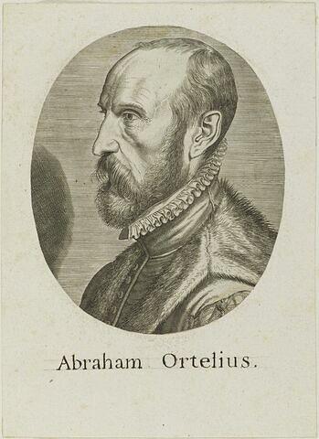 Portrait d'Abraham Ortelius