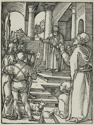 Christ devant Pilate