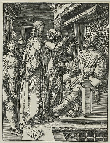 Christ devant Hérode