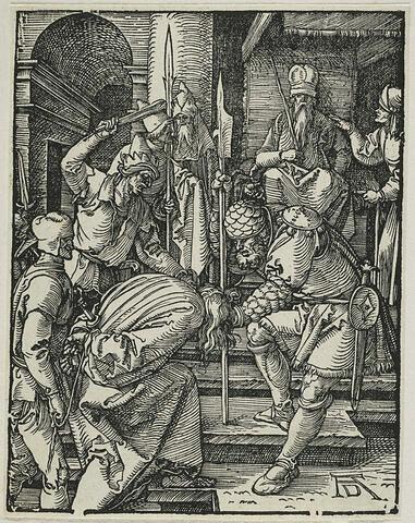 Christ devant Ananie