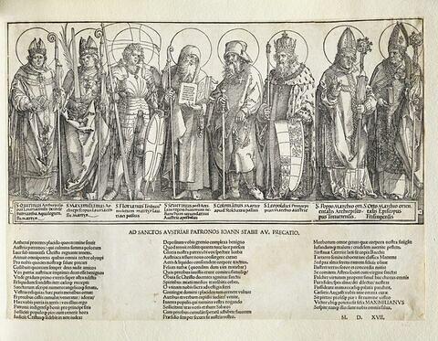 Les Saints patrons de l'Autriche