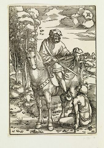 Saint Martin à cheval