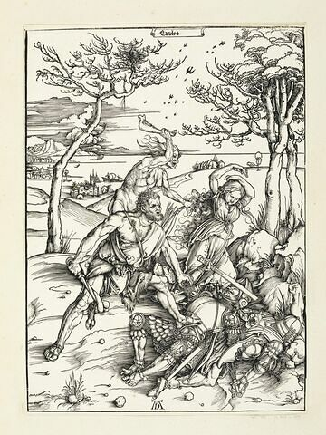 Hercule combattant Cacus