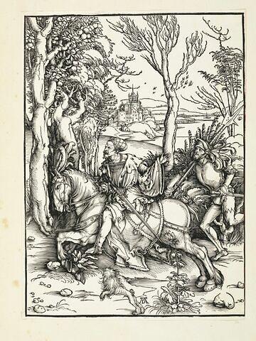 Le chevalier et le lansquenet