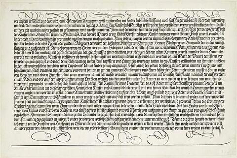 L'arc de triomphe de Maximilien : texte V