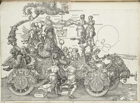 Le char de triomphe de Maximilien Ier : Fidentia et Ratio
