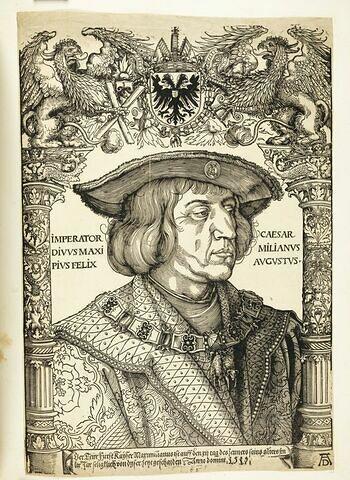 Portrait de l'empereur Maximilien Ier
