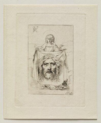 Sainte Véronique présentant la Sainte Face