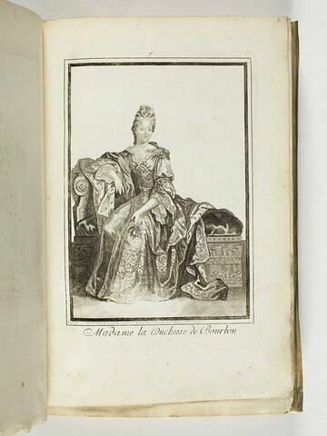Madame la Duchesse de Bourbon