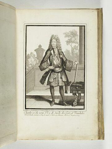 Charles XIe du nom roi de Suède, des Goths et des Vandales