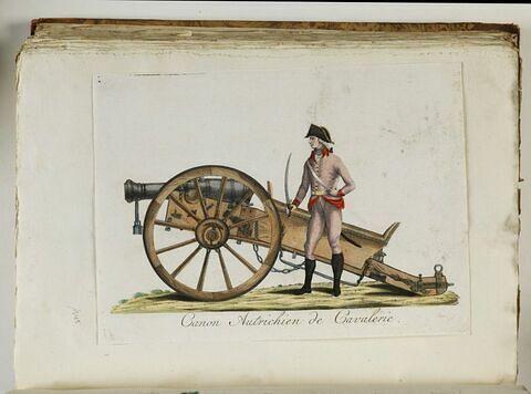 Canon Autrichien de Cavalerie.