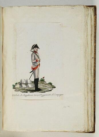 Soldato d'Artiglieria terzo Riggimento di Campagna