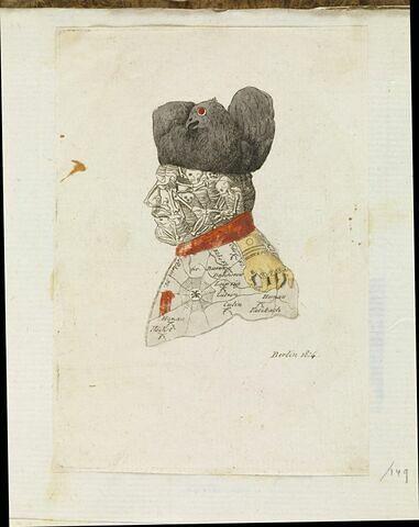 [Caricature de Napoléon] Berlin 1814