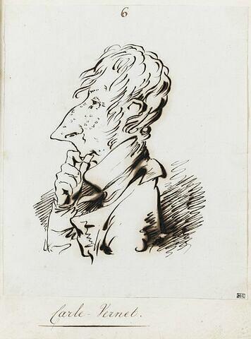 Portrait du peintre Carle Vernet