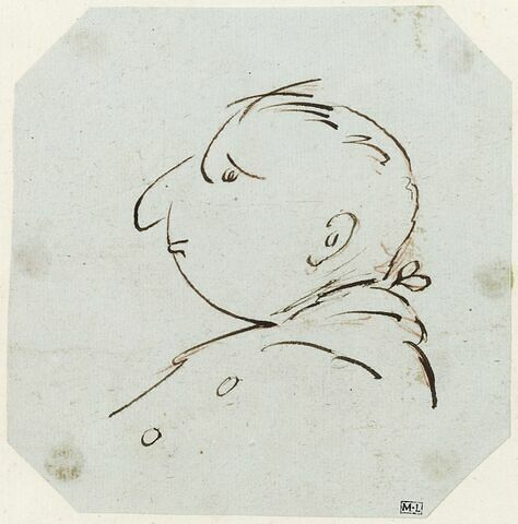 Portraits de Jean-Baptiste-Gaspard d'Ansse de Villoison
