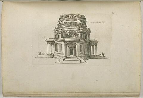 Temple de Tibère, Rome