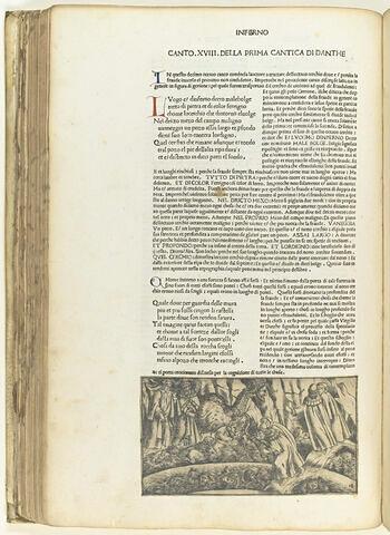 Chant dix-huit de l'Enfer : Dante et Virgile dans l'Enfer des flatteurs
