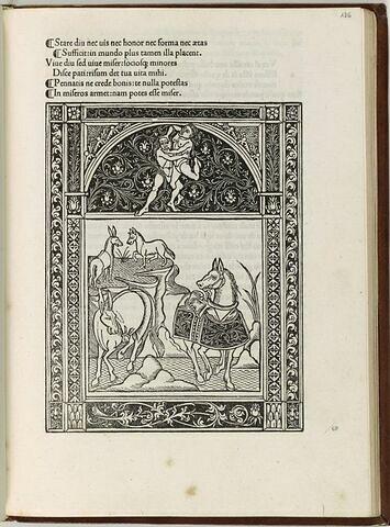 Fable du cheval et de l'âne