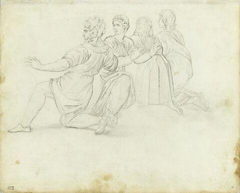 Copie d'après Raphaël