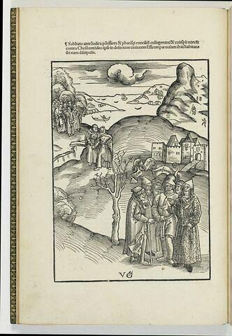 Le conseil des grands prêtres et des pharisiens
