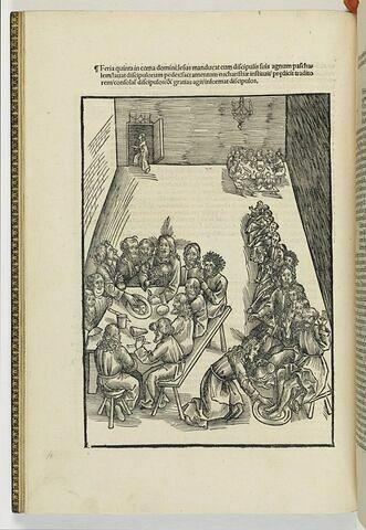 La Cène et le Lavement des pieds