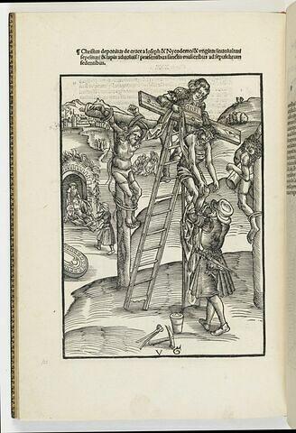 La descente de croix et la mise au tombeau