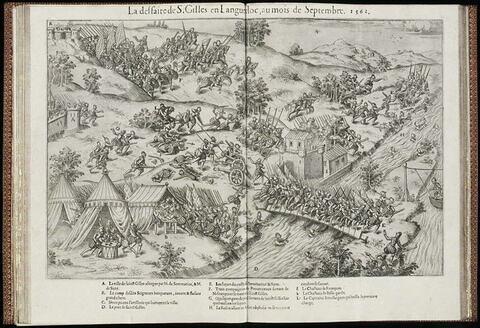 La défaite de Saint Gilles en Languedoc en septembre 1562
