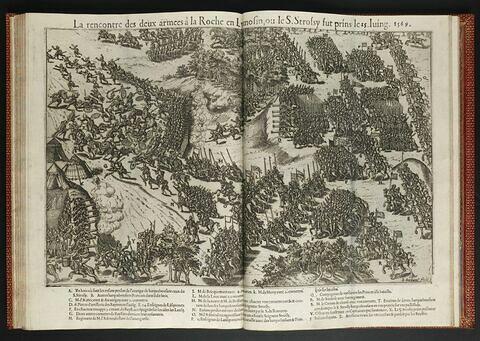 La Rencontre des deux armées françaises à la Roche en Limousin, le 25 juin 1569