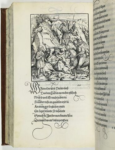 66. Ein geferlichait so dem hochberümbten Held Tewrdanck widerfarn sein solt im Fürstentumb Steyr.