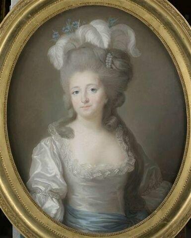 Portrait de la marquise de Montesson.
