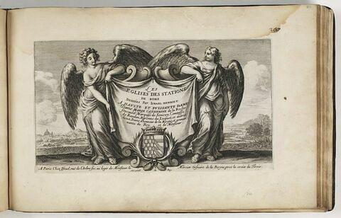 Les Eglises des Stations de Rome, dédiées par Israël Henriet à Haute et Puissante Dame