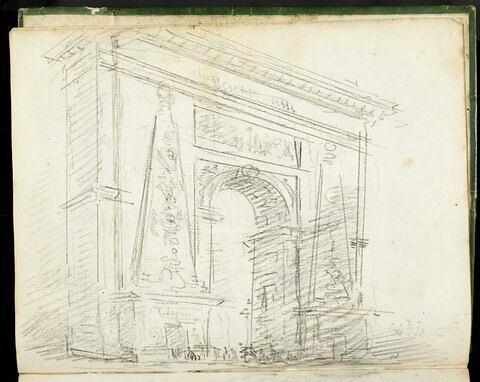 La Porte Saint-Denis à Paris