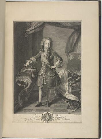 Louis Quinze Roi de France et de Navarre