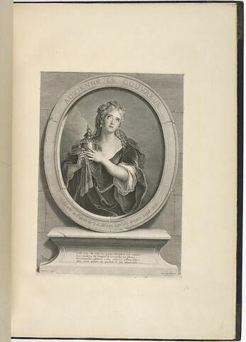 Adrienne Le Couvreur morte à Paris le 20 Mars 1730 agée de 37 ans